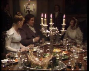 Mansfield Park 1983 - Bertram supper party 1
