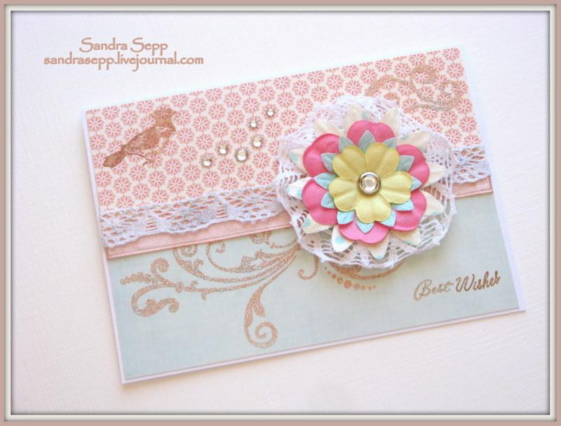 best wishes flower broche 005