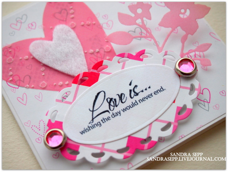 Pink Valentine day cards 004