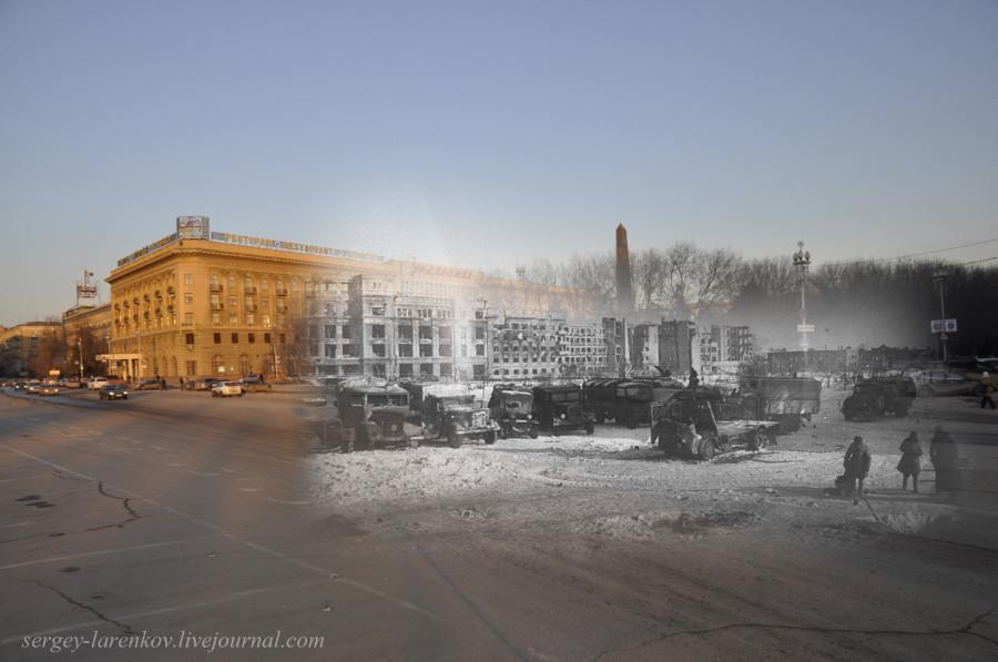45.Сталинград 1943-Волгоград 2013. Площадь Павших Борцов после окончания боев