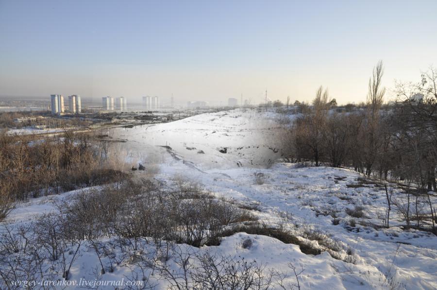 58.Сталинград 1943-Волгоград 2013.Мамаев курган после боев