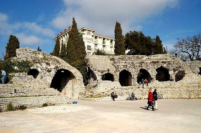 Cemenelum-amphitheatre