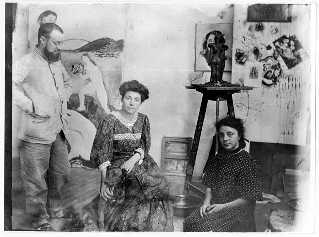 Matisse-wife-daughter