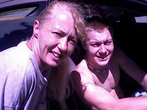 Angela Dawn Parrish and Nephew Alex Winstead 17 yrs old in FL. 2010