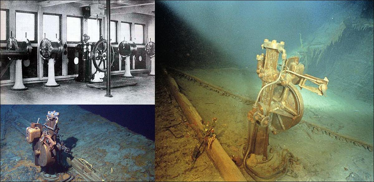 реальные фото затонувшего титаника основной корпус есть