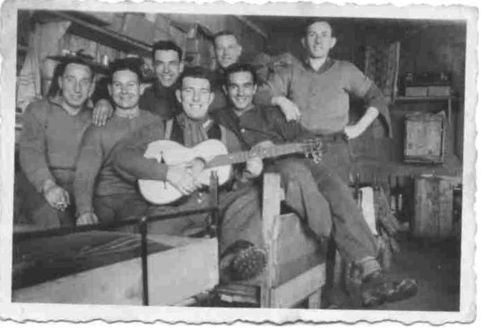 шталаг-18А - в бараке