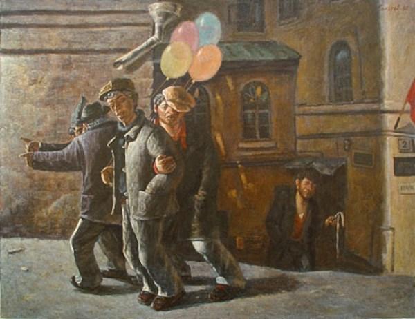 Василий Колотев. Красный день календаря. 1985 г.