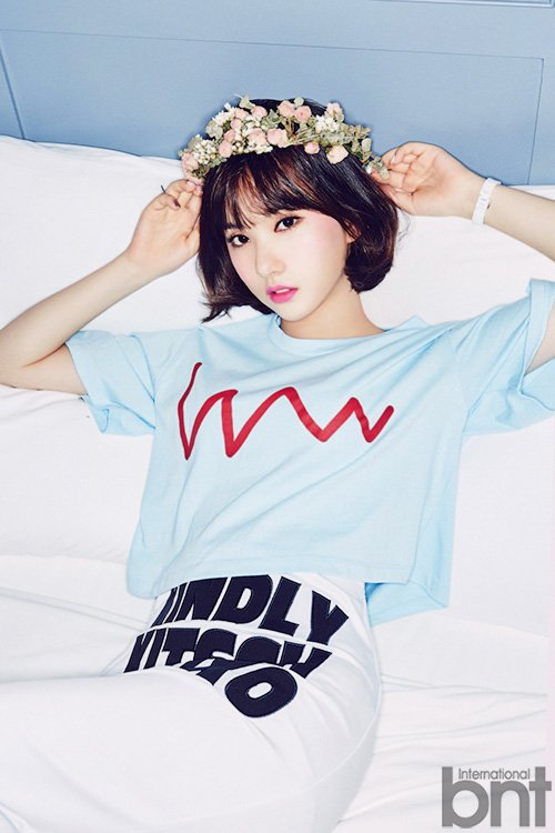 GFriends EUNHA for BNT September 2016  OMONA THEY DIDN