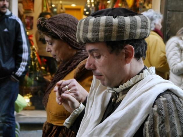 костюмированный фестиваль Флоренция