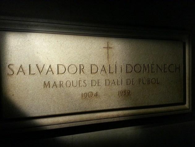 Сальвадор Дали похоронен в музее