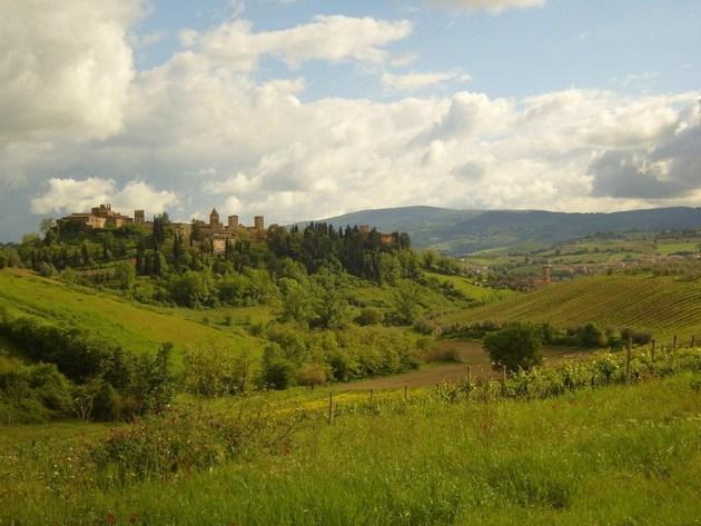 Замки Тоскана Италия