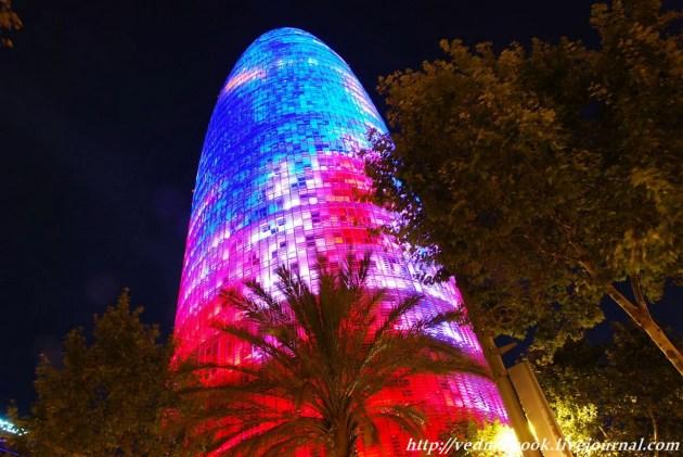 Башня Агбар Барселона Испания