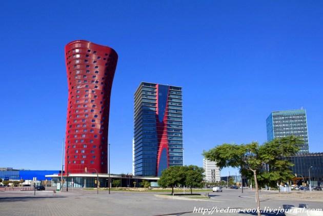 Башни порта Фира Барселона