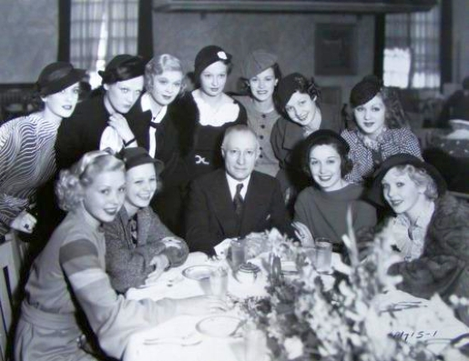 paramount new actresses adolph zukor 1934a
