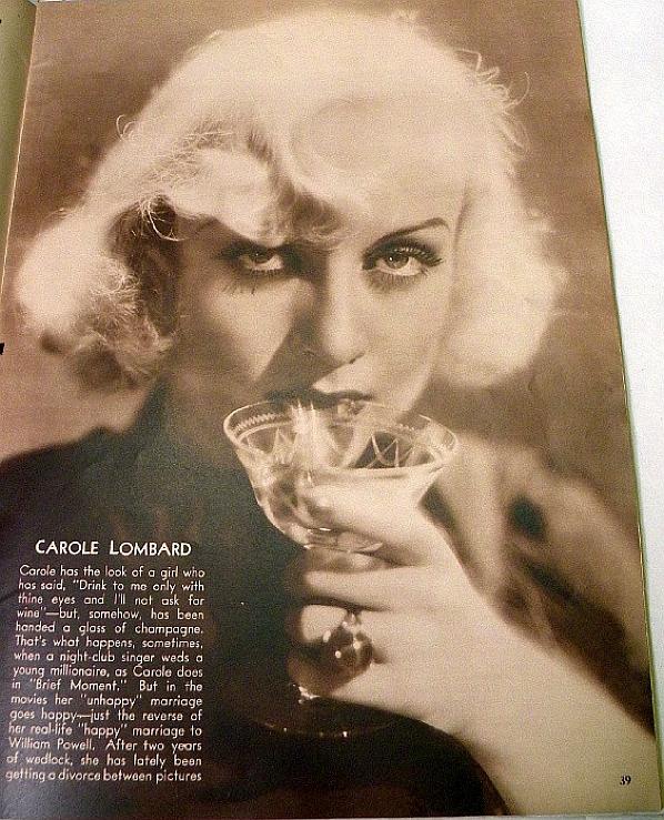 carole lombard movie classic october 1933c