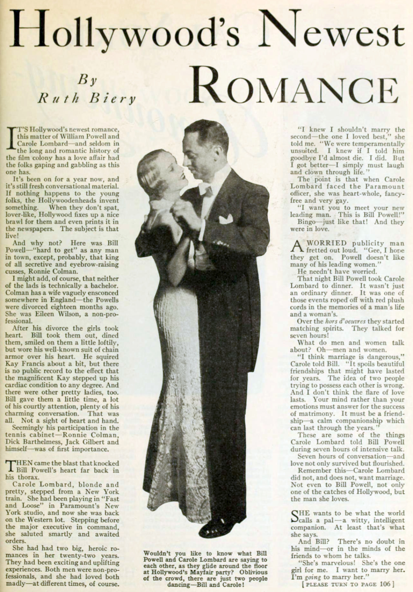 carole lombard photoplay june 1931 hollywood's newest romance 00a