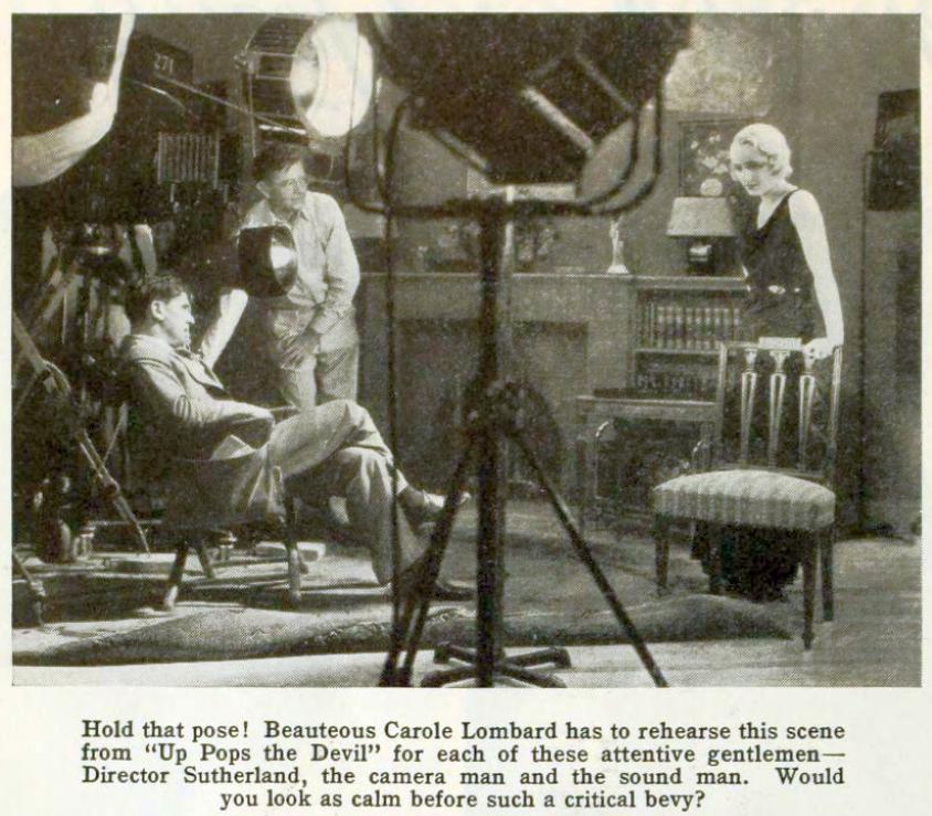 carole lombard photoplay june 1931 closeup