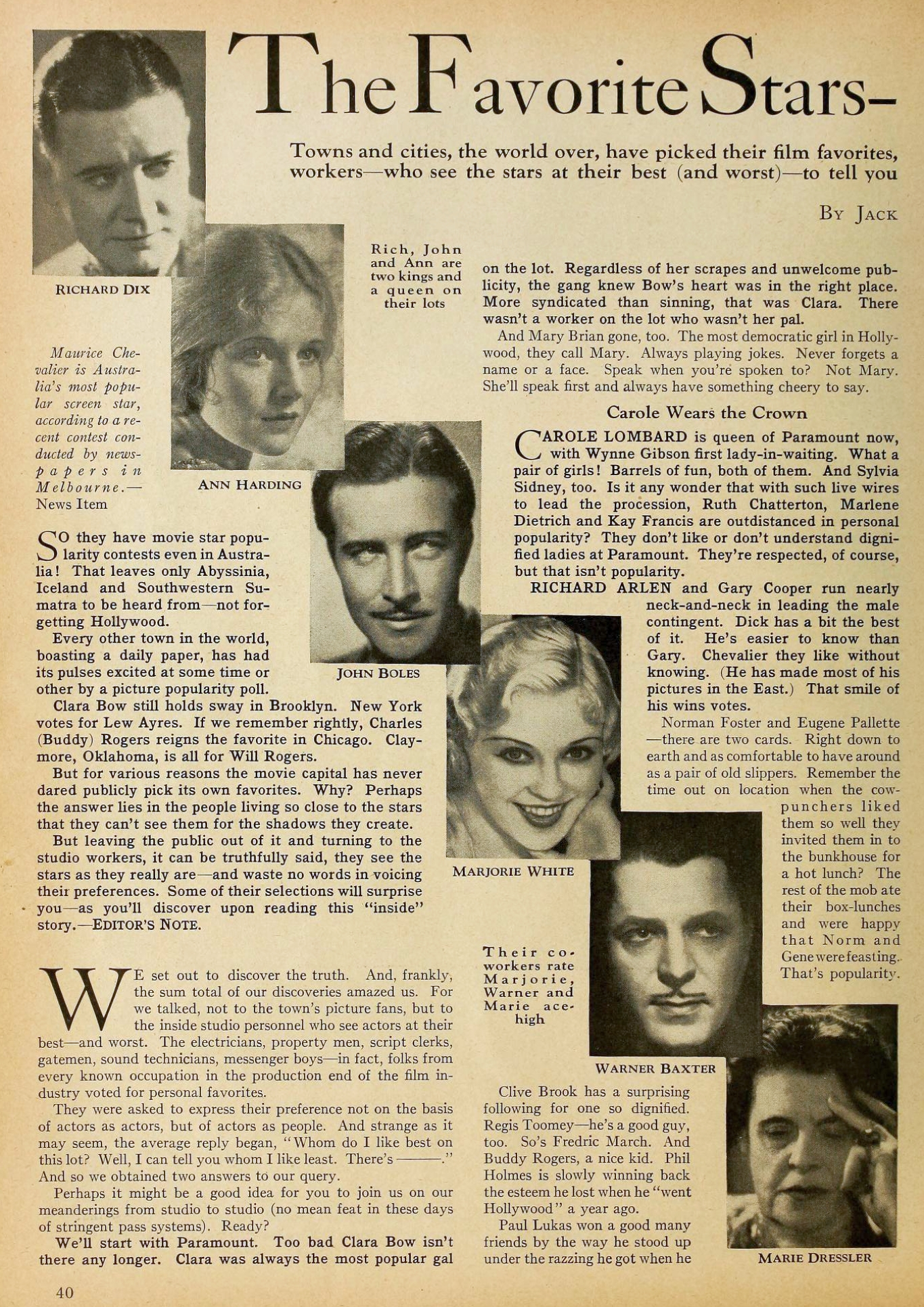 carole lombard motion picture october 1931 popular 00a
