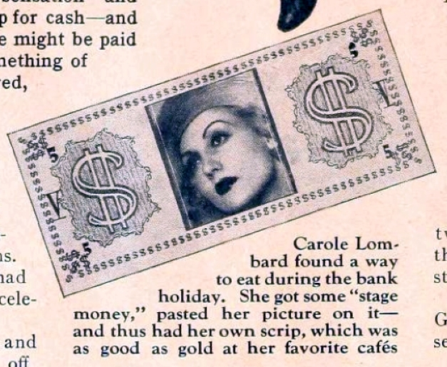 carole lombard motion picture june 1933 bank holiday 00a closeup