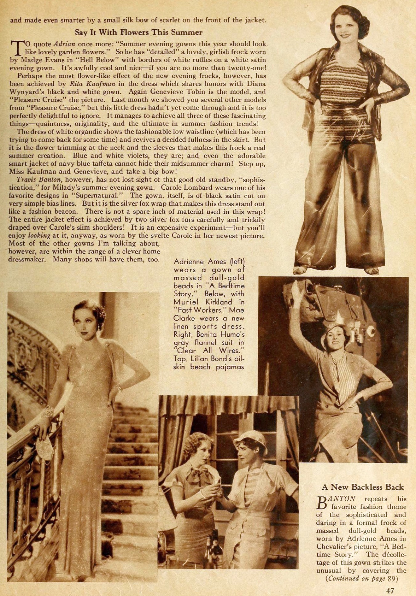 carole lombard motion picture june 1933 fashion tips 03a
