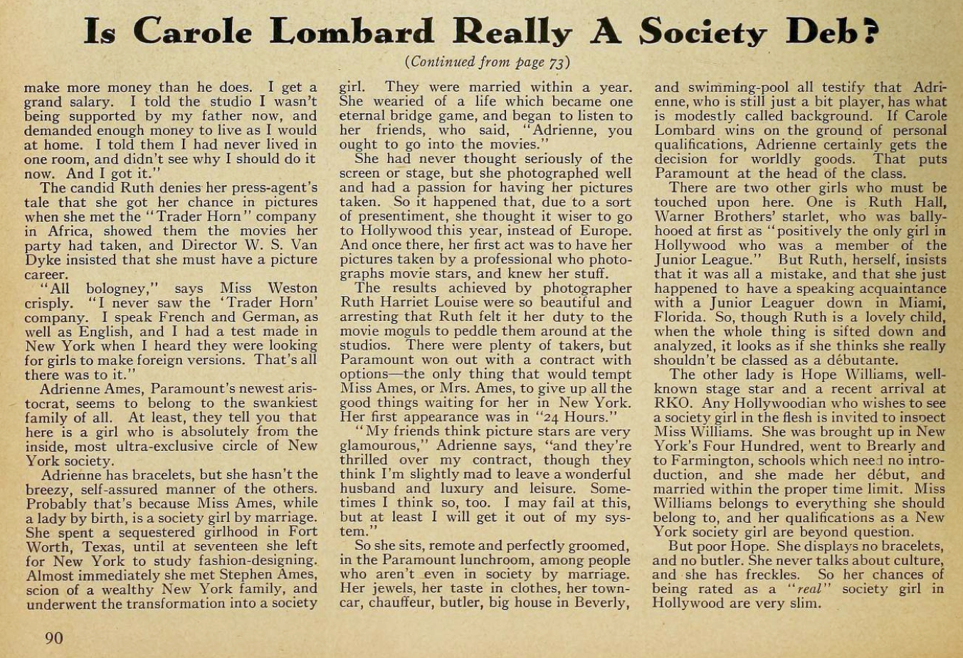carole lombard motion picture jan 1932 society deb 02a