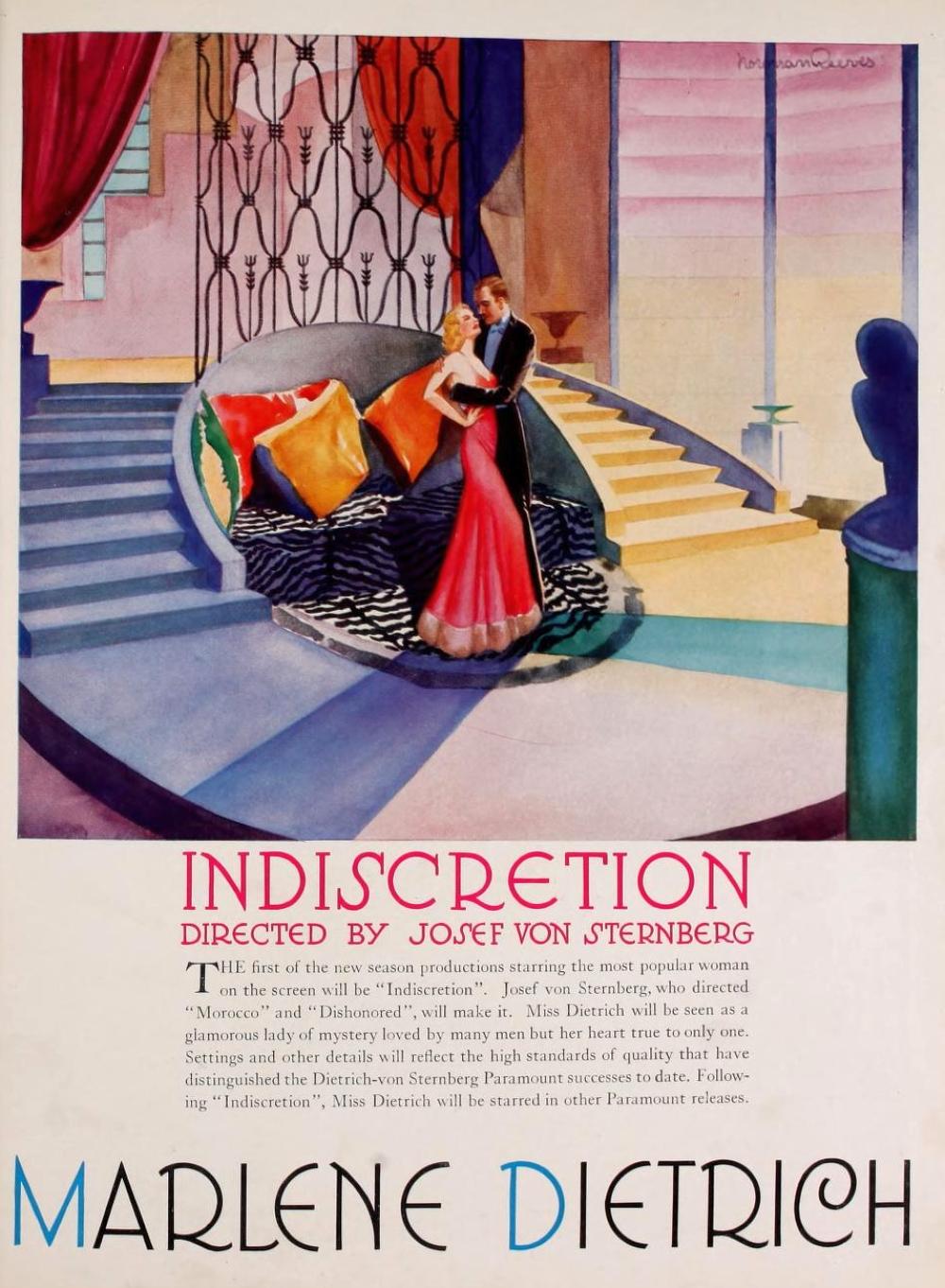 marlene dietrich 1931-32 paramount pressbook 01a