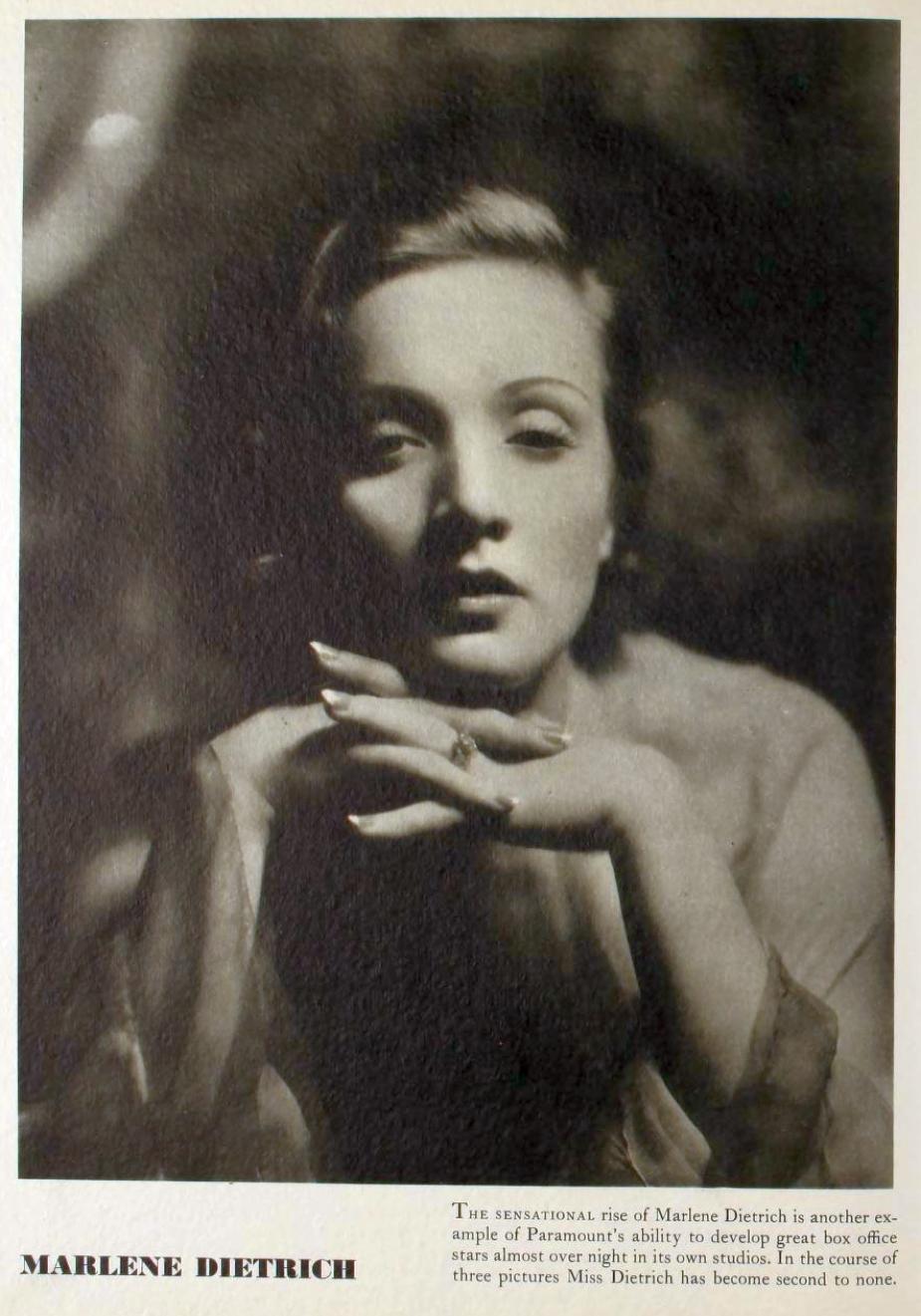 marlene dietrich 1931-32 paramount pressbook 03a