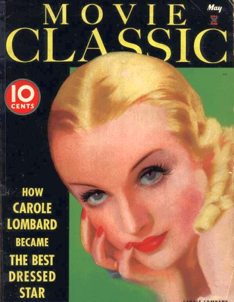 carole lombard movie classic may 1935 cover large