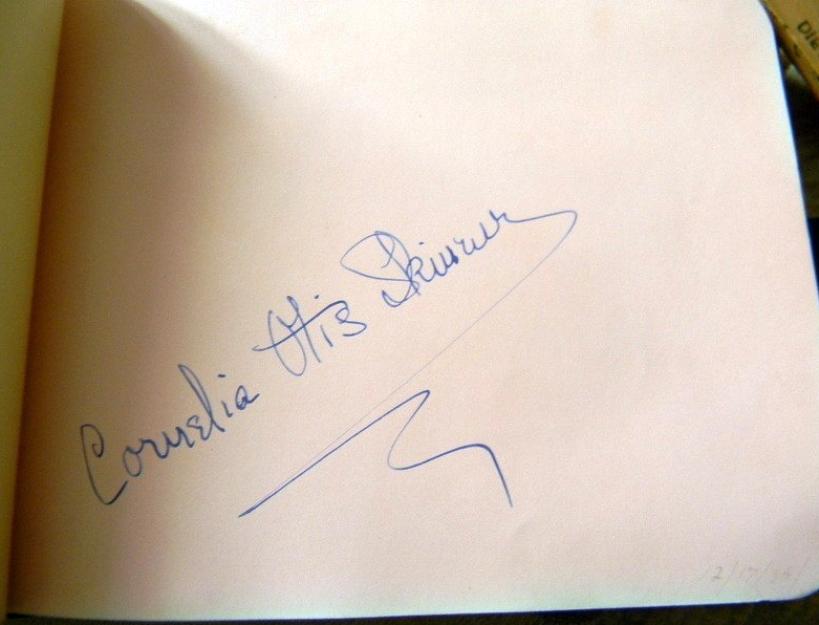 autograph cornelia otis skinner 00a