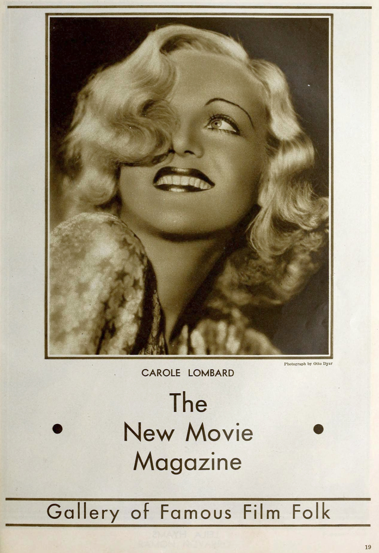 carole lombard the new movie magazine march 1932a