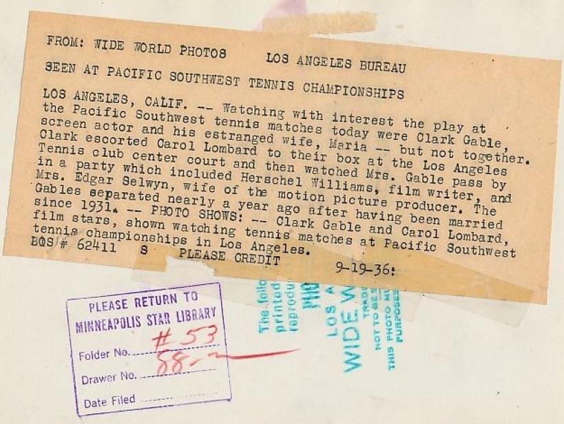 carole lombard clark gable 091936a tennis back
