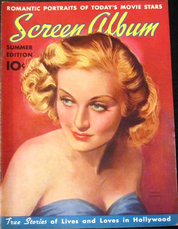 carole lombard screen album summer 1938c