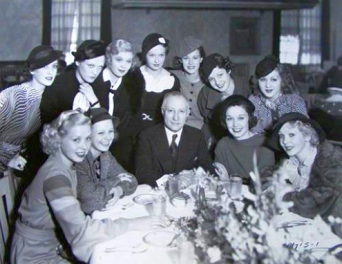 paramount new actresses adolph zukor 1934b