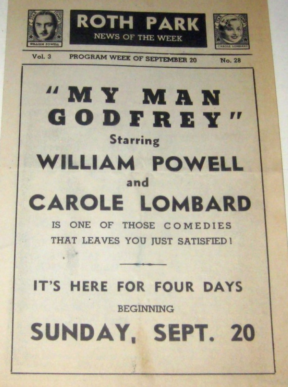 carole lombard my man godfrey program 00b
