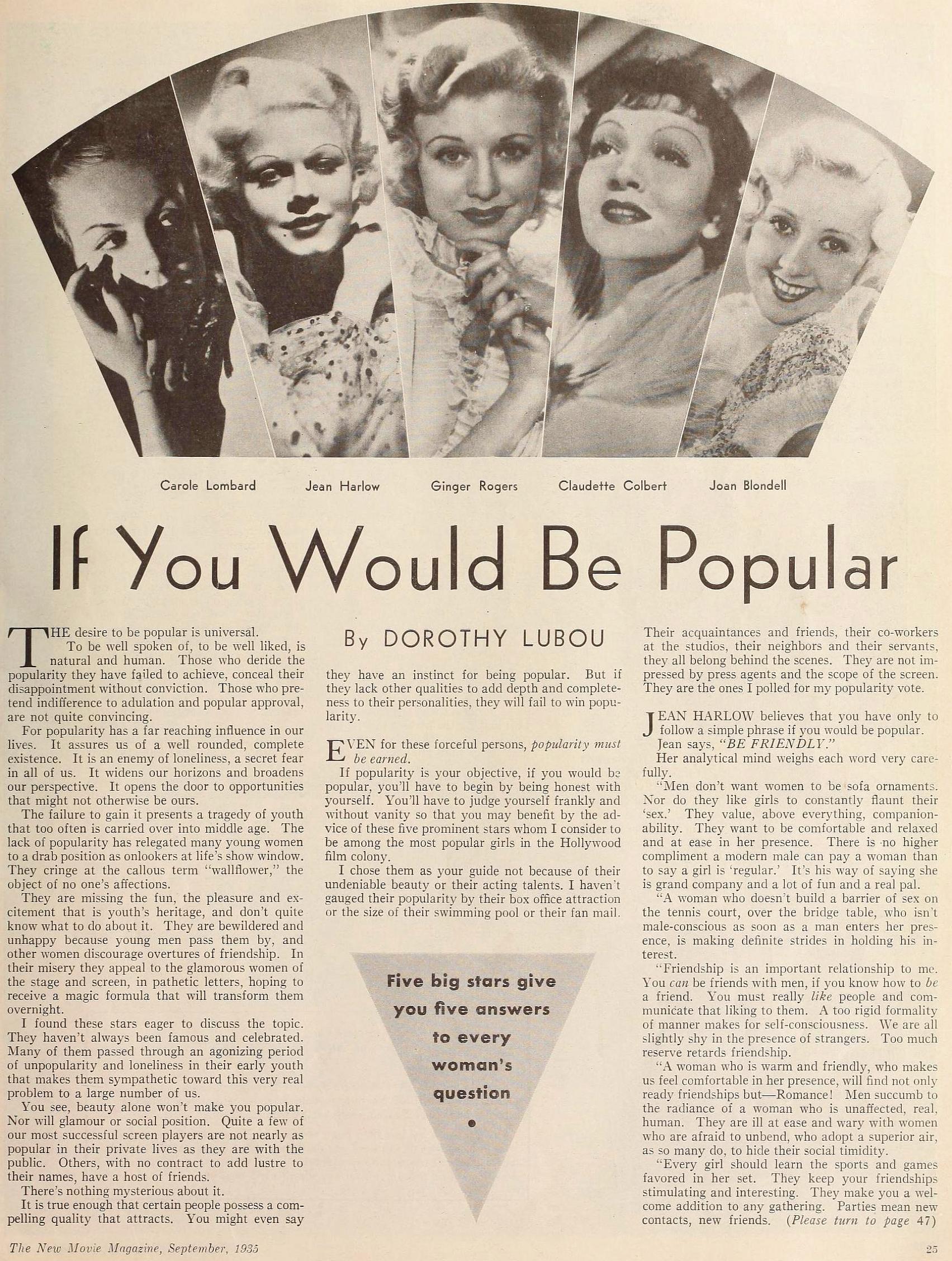 carole lombard the new movie magazine september 1935aa