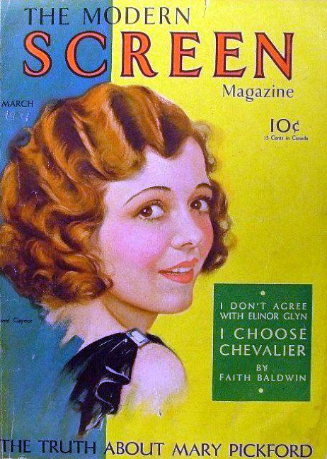 modern screen march 1931 janet gaynor
