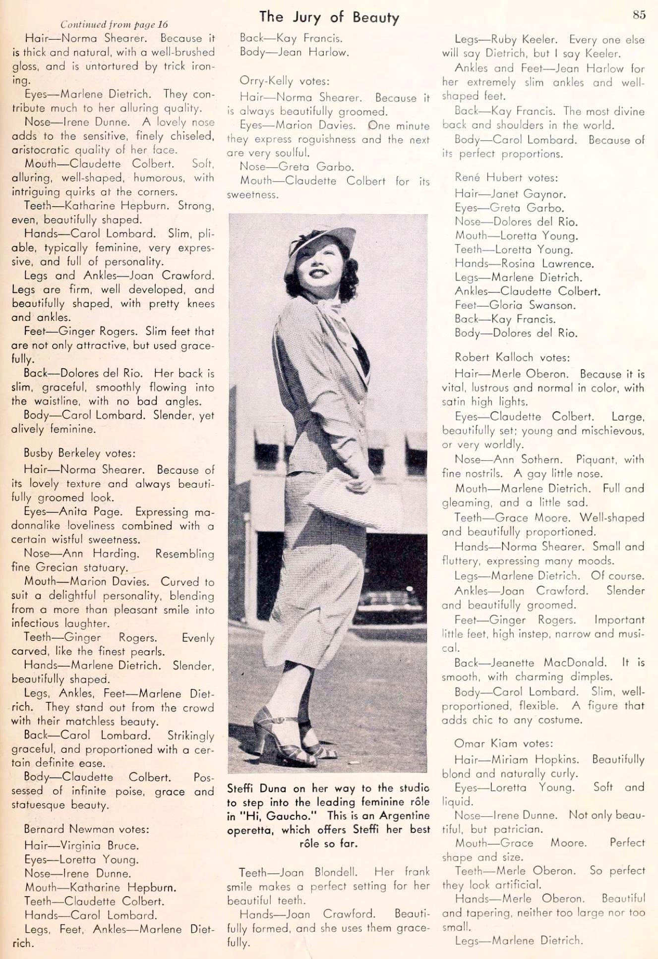 carole lombard picture play november 1935da