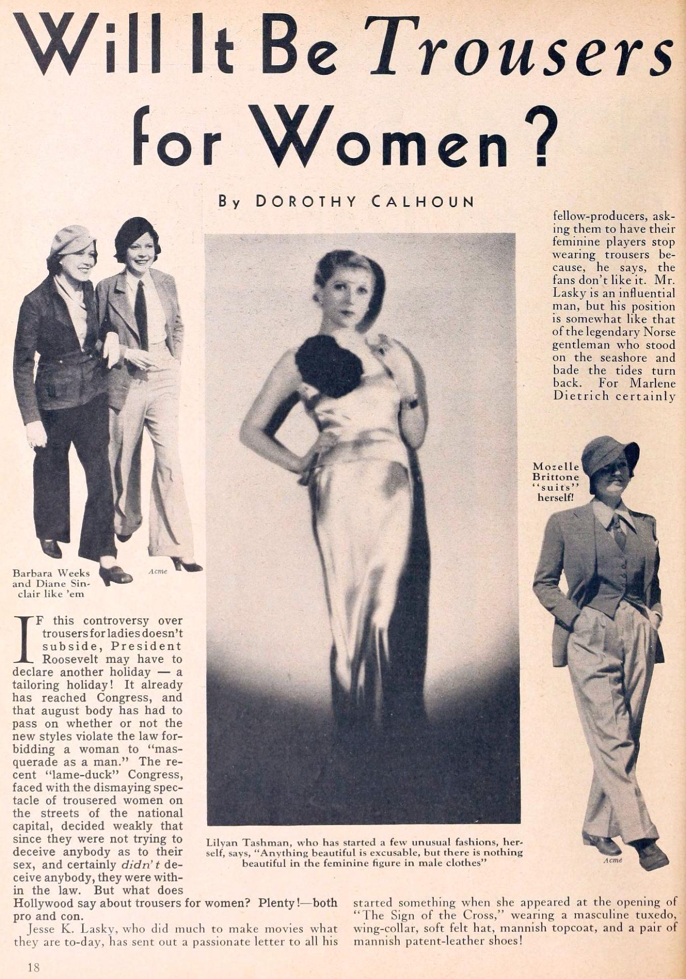 carole lombard movie classic may 1933ea