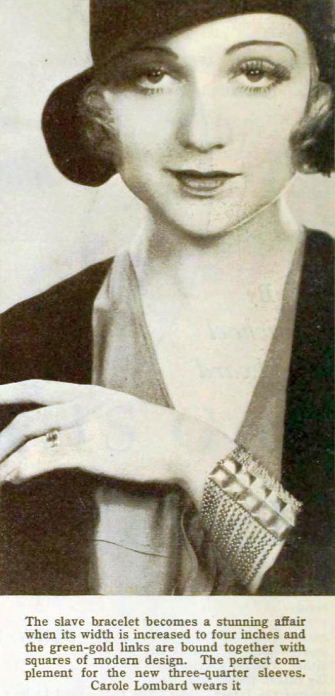 carole lombard photoplay march 1931 closeup 00