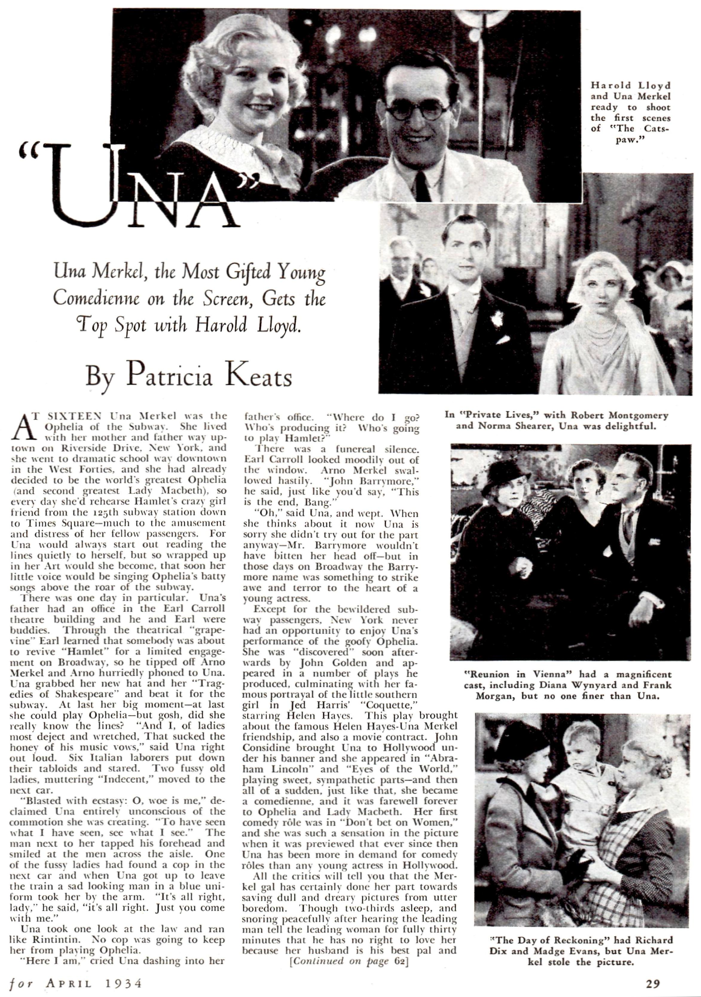 silver screen april 1934f