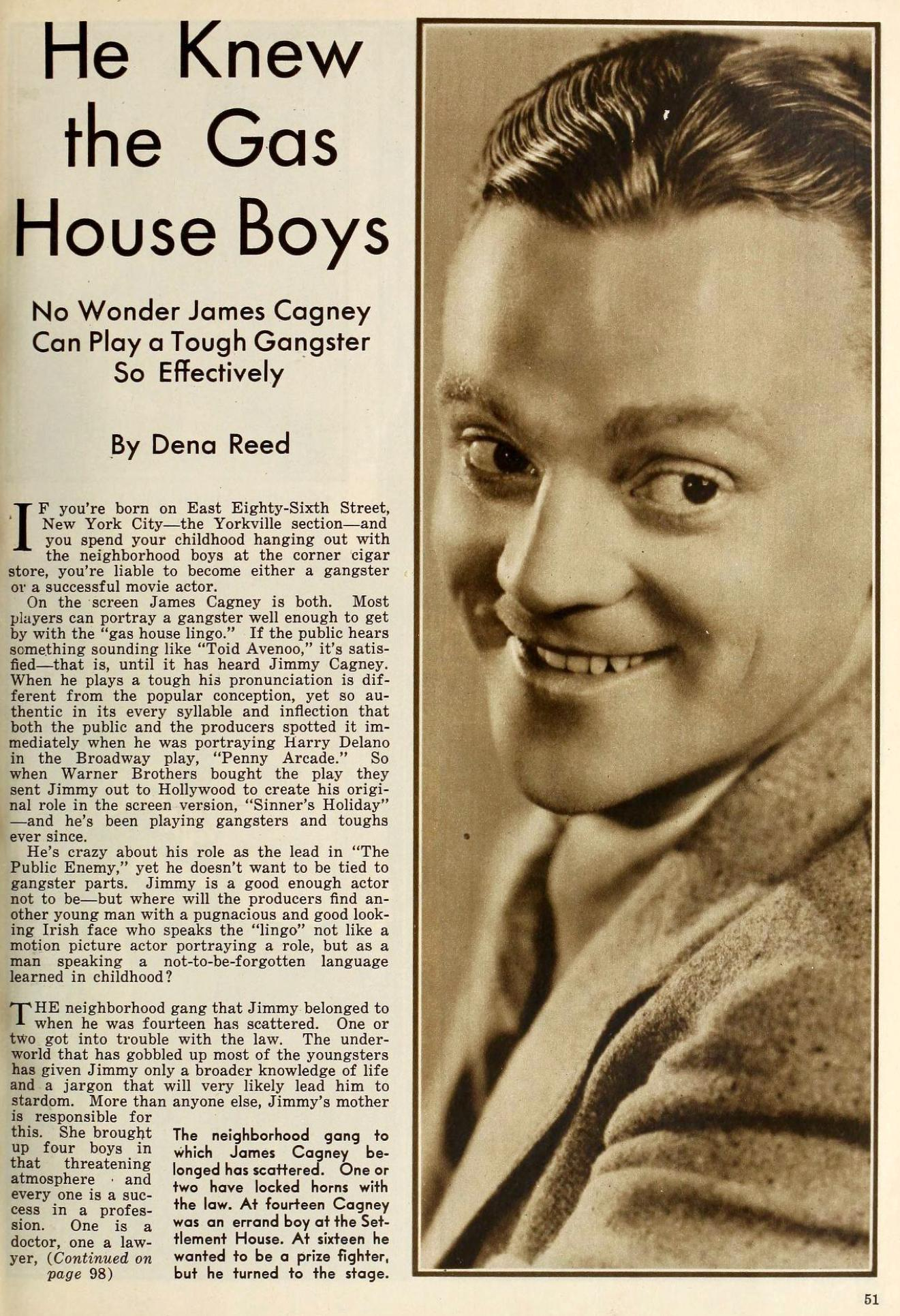 the new movie magazine august 1931 james cagney 00a