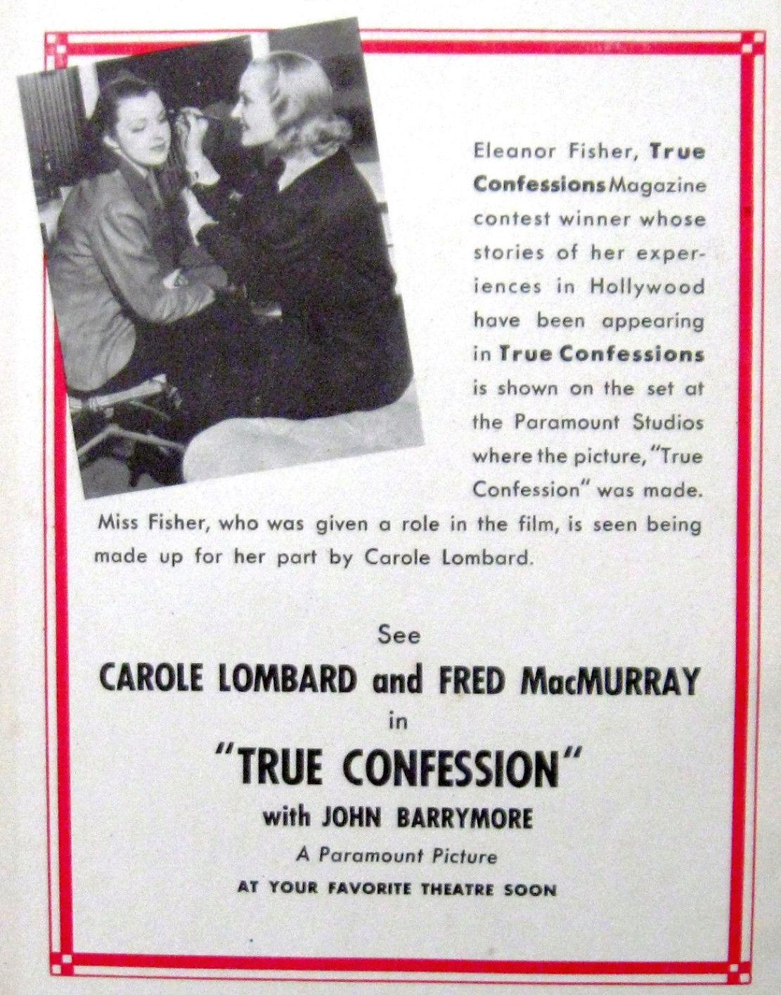 carole lombard true confession true confessions 04a