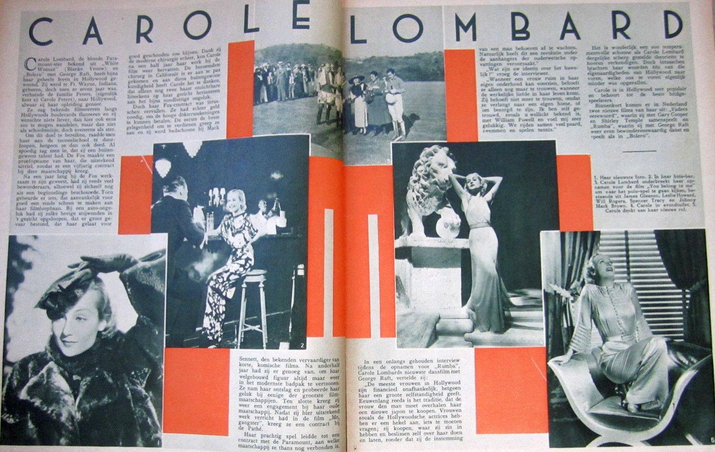 carole lombard cinema & theater 050435a