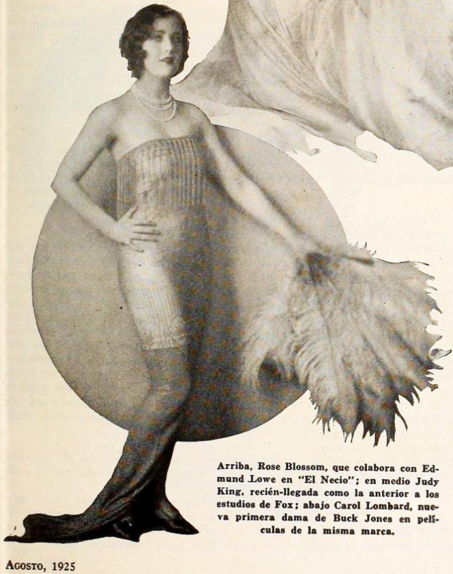 carole lombard cine mundial august 1925ac