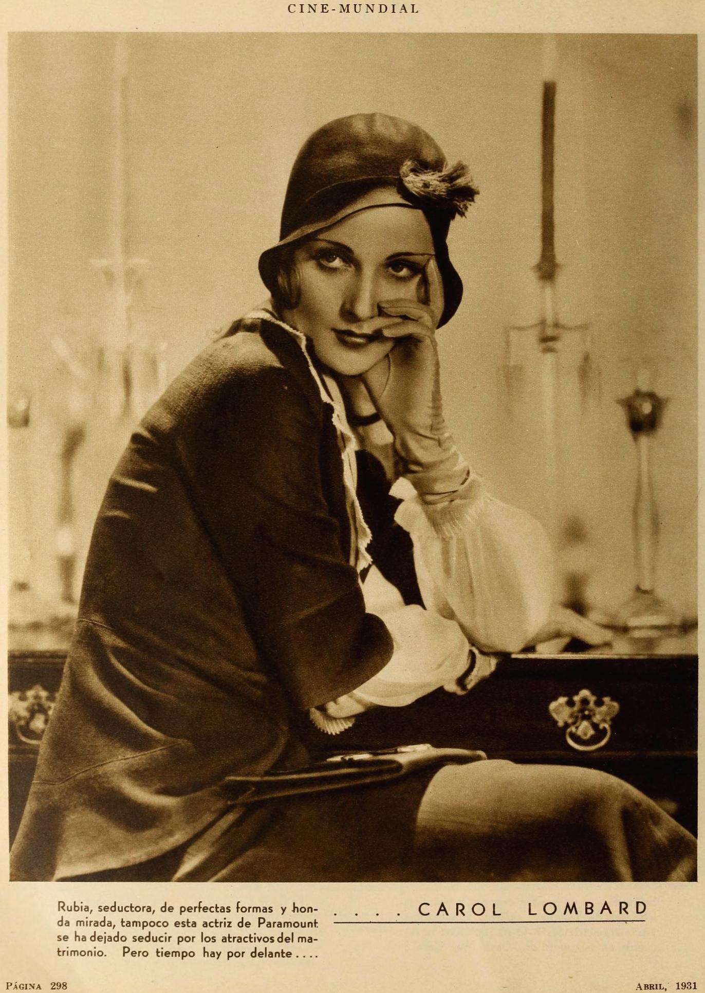 carole lombard cine mundial april 1931aa
