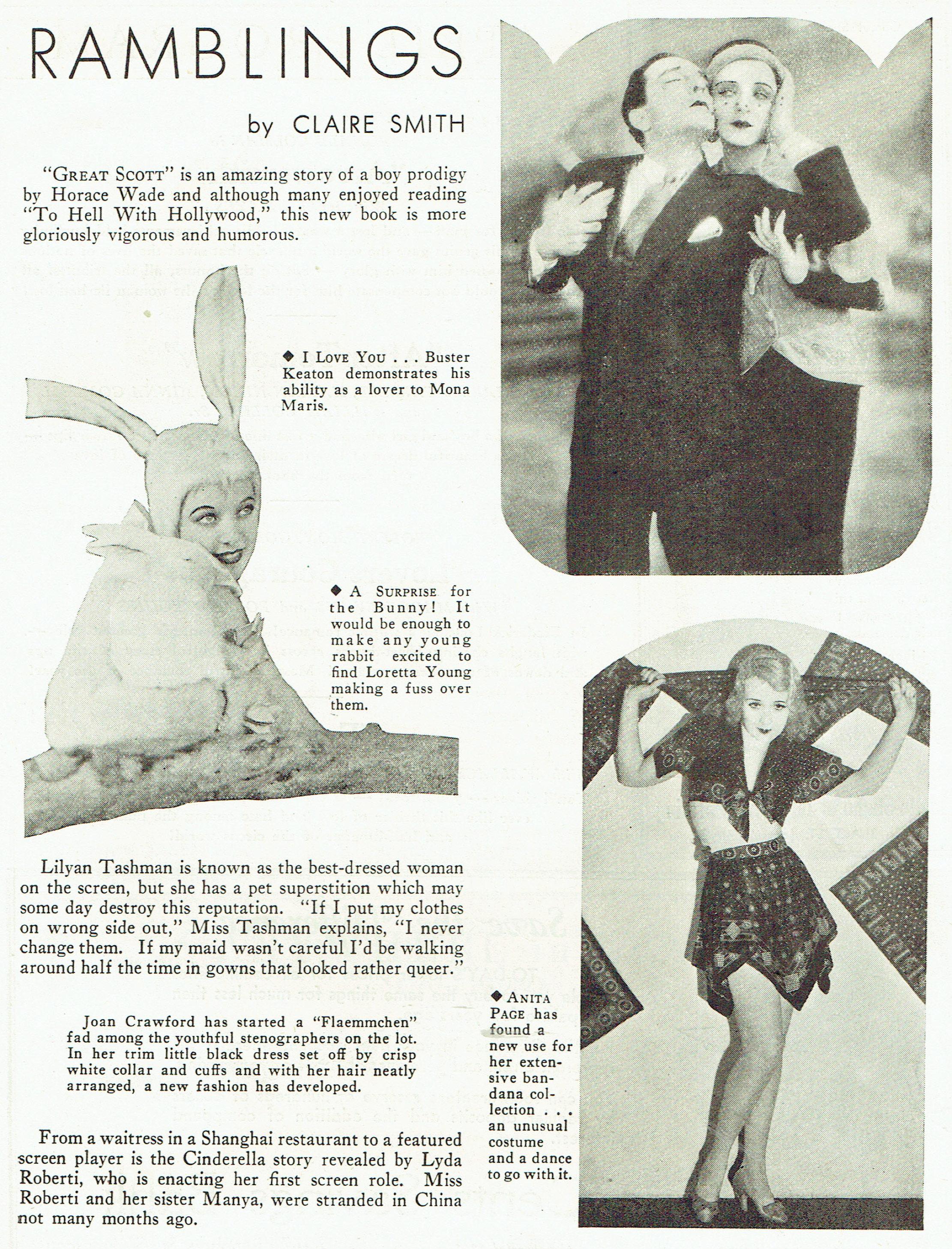 carole lombard publix theatre screen review april 1932ga
