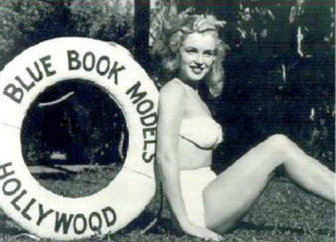 marilyn monroe blue book models 00b