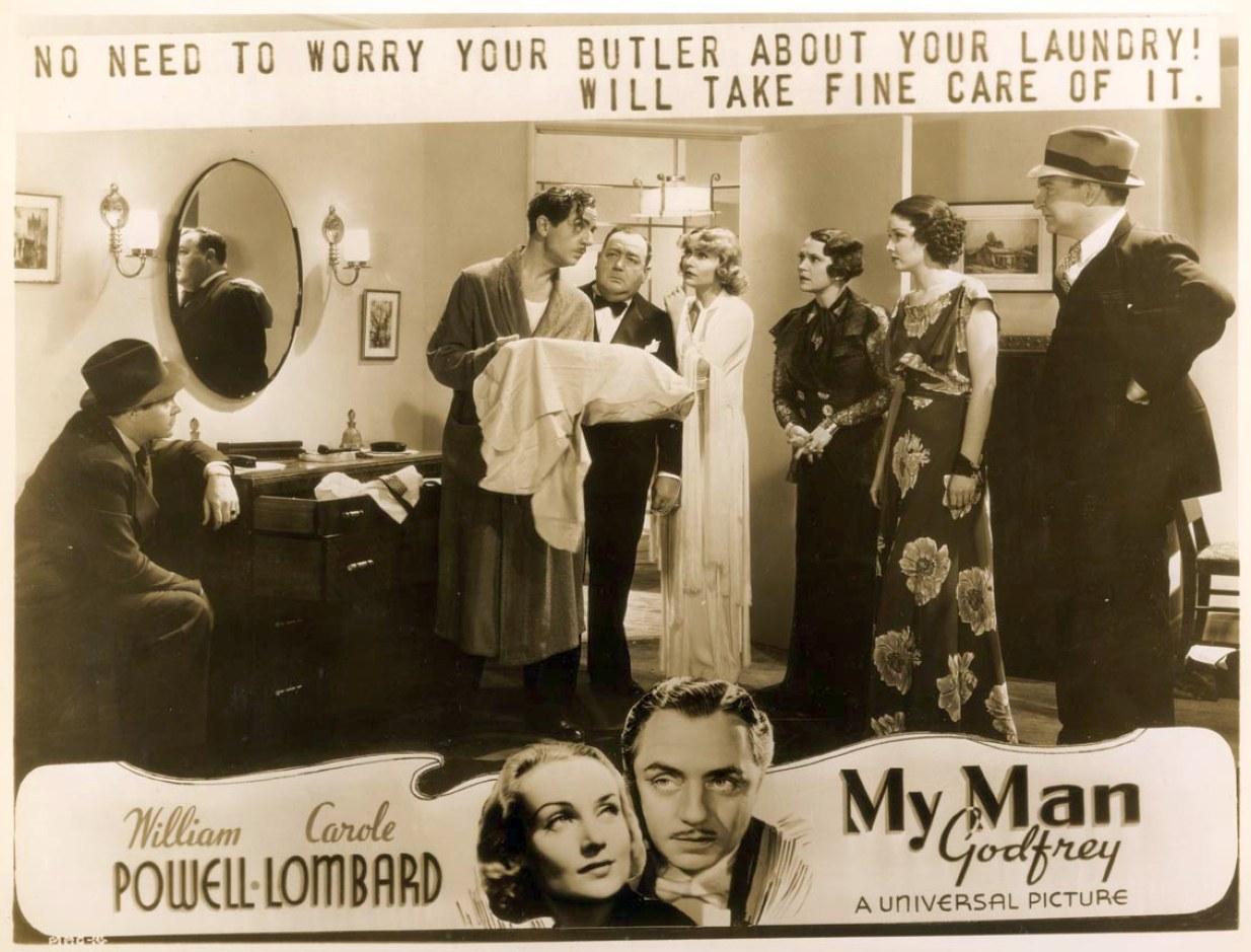 carole lombard my man godfrey advertising 12a