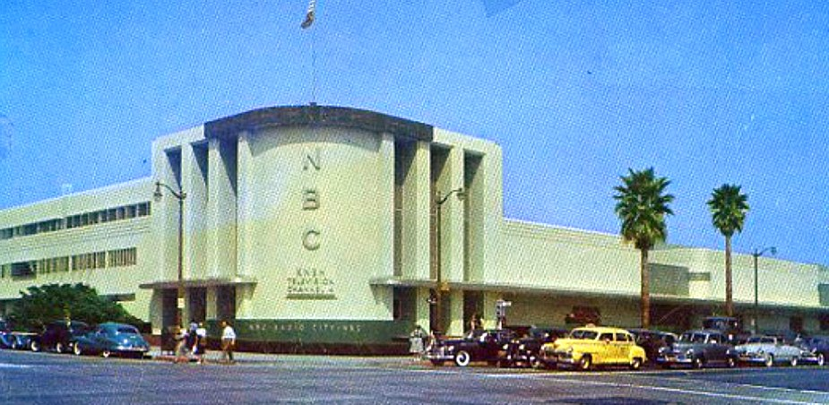nbc radio hollywood 1950s large