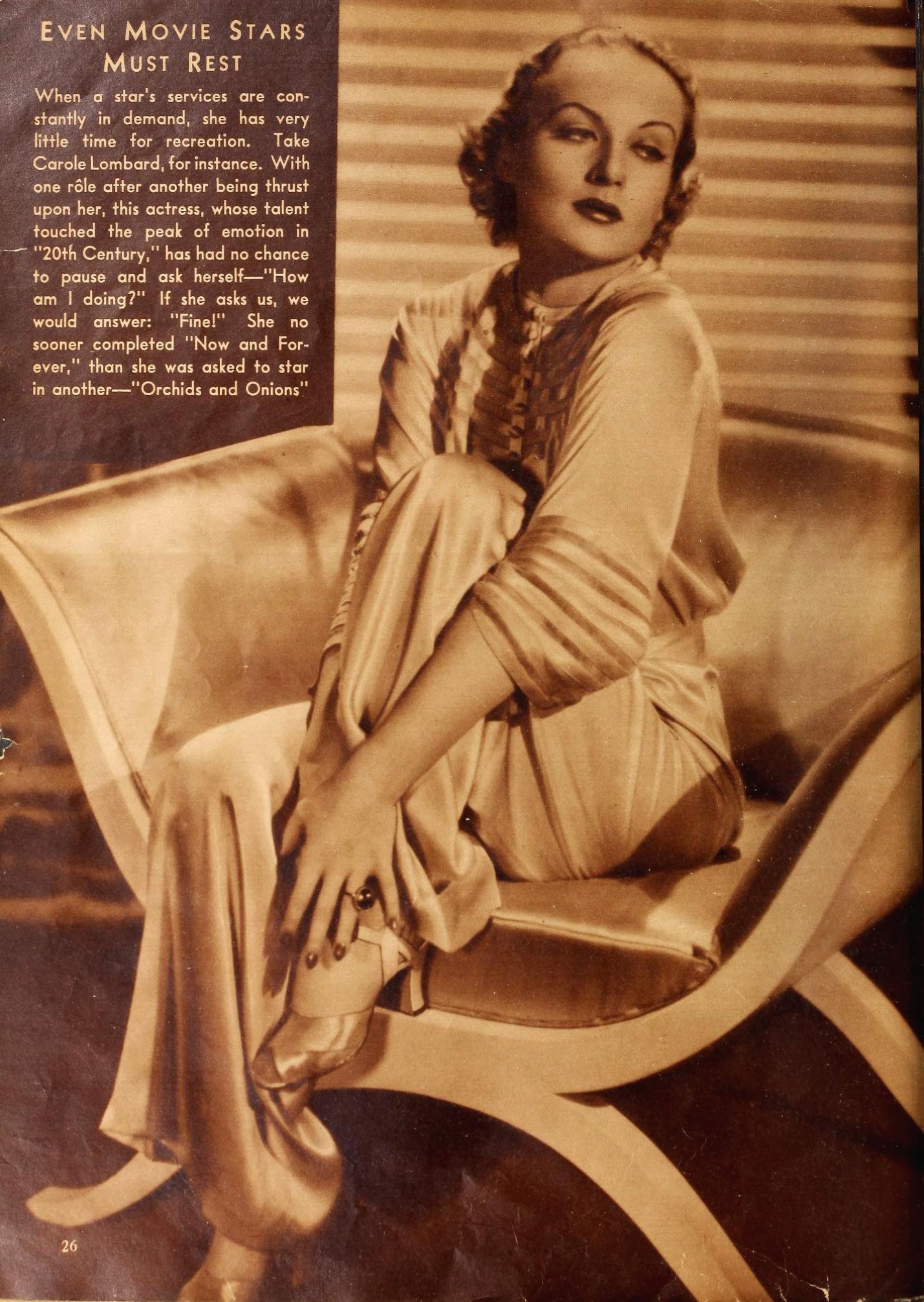 carole lombard movie classic october 1934aa
